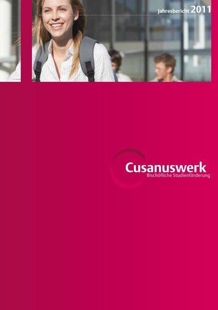 Jahresbericht 2011 Cusanuswerk