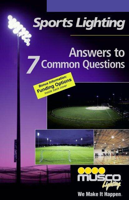 musco sports lighting brochure scmaf