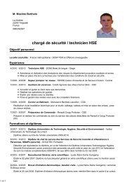 Cv Maxime Berthelo Ssiap Com