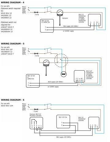 Wiring Diagrams  VentAxia