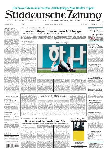 Laurenz Meyer Muss Um Sein Amt Bangen Ein Braver Mann Kann