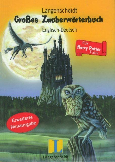 Langenscheidt Grosses Zauberworterbuch Englisch Deutsch