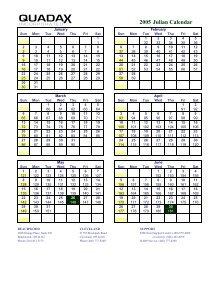 Quadax Julian Calendar 2022.Printable Calendar Quadax Julian Calendar 2021 Julian Date Calendar Pdf Calendar For Planning Fill Julian Calendar 2020 Edit Online