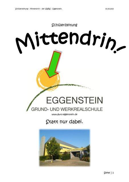 Statt Nur Dabei Grund Und Werkrealschule Eggenstein