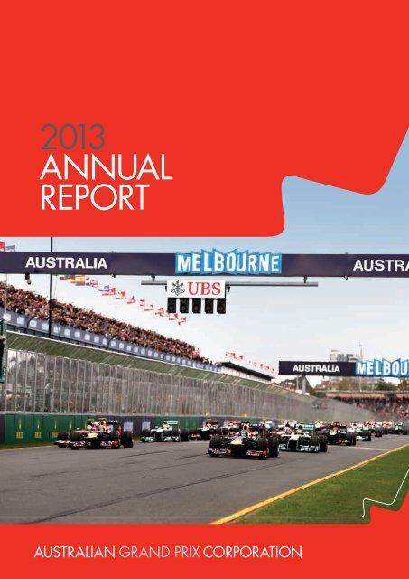 Australian Grand Prix Annual Report