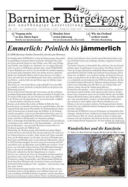 Bp Barnim Blog Eberswalde Und Bernau