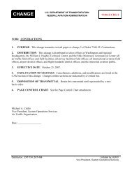 Change 1 To Faa Order 7340 2c Contractions