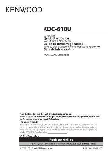 kenwood kdc 610u car electronics englishfrenchspanish operationmanual 2013?resize\\\=357%2C503\\\&ssl\\\=1 wiring diagram kenwood kdc 610u color wiring diagram images Kenwood Wiring Harness Diagram at gsmx.co