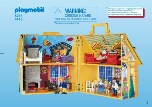 notice de montage playmobil 5763