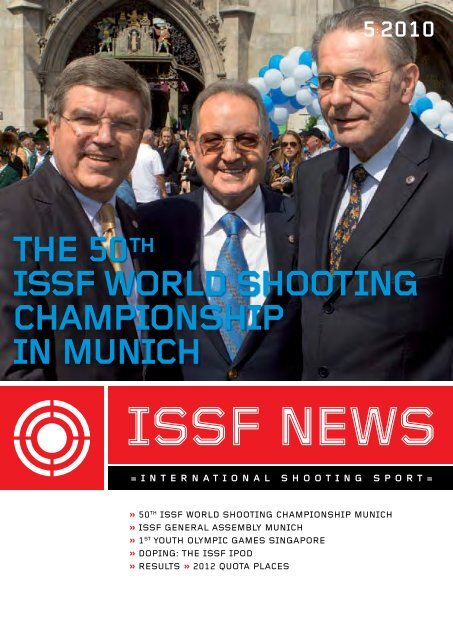 The 50th Issf World Shooting Championship In Munich
