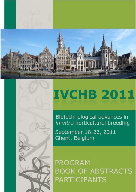 Session 1 International Symposium On In Vitro Culture And