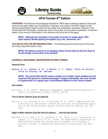 Apa Format  th Edition Sample Paper   Cover Letter Templates Thesis apa  th edition format  Essay narrative