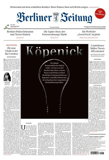 Berliner Zeitung 21 02 2019
