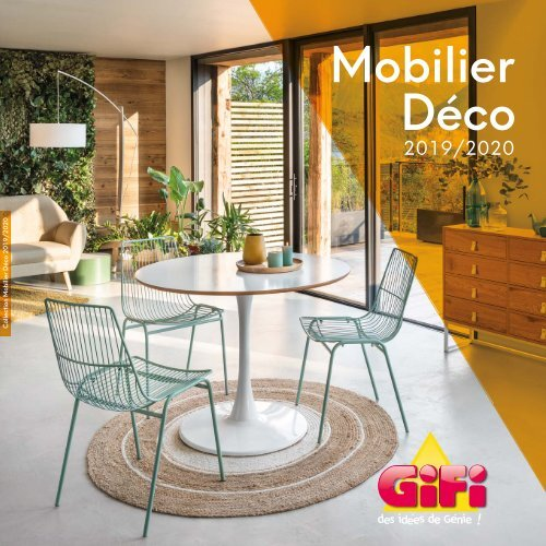 gifi mobilier deco collection 2019 2020