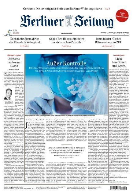 Berliner Zeitung 12 12 2019