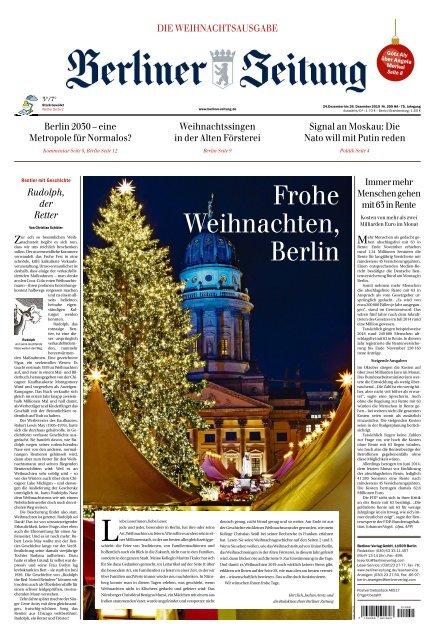 Berliner Zeitung 24 12 2019