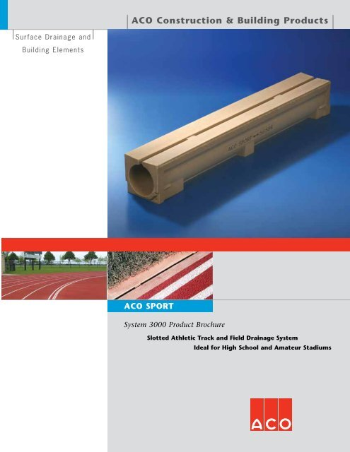 Aco Construction Building Products Aco Polymer Products Inc