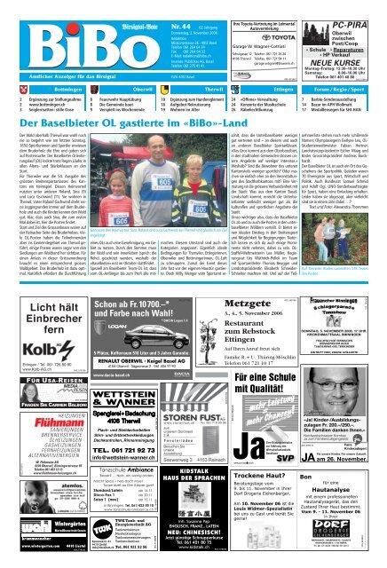 03 11 2006 Bibo Nr 44 65 Jahrgang
