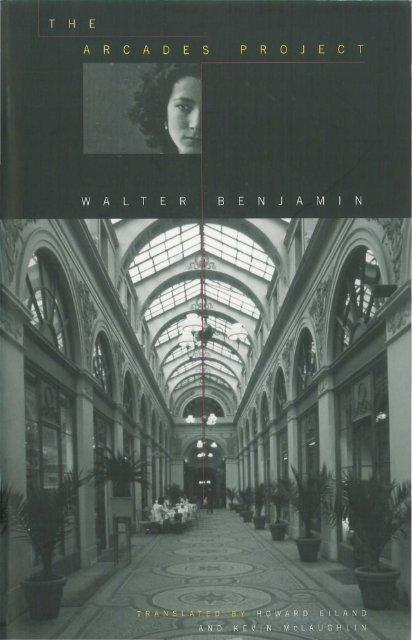 Benjamin Walter The Arcades Project Pdf Traumawien