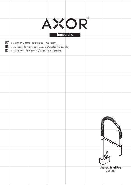assembly instruction pdf mixer