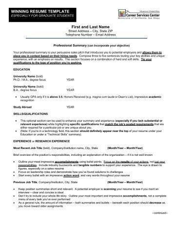 Resume Template Johnson Cornell Resume Templates For Mac