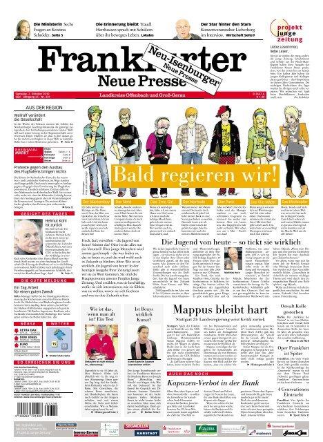 Mappus Bleibt Hart Frankfurter Neue Presse