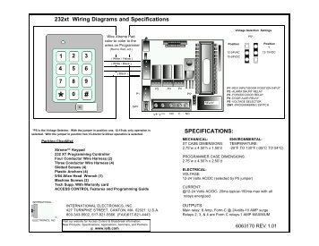 specifications 232xt wiring diagrams and linear?resize=356%2C275&ssl=1 apexi turbo timer wiring diagram wiring diagram apexi pen turbo timer wiring diagram at creativeand.co