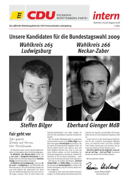 Intern Intern Cdu Ludwigsburg