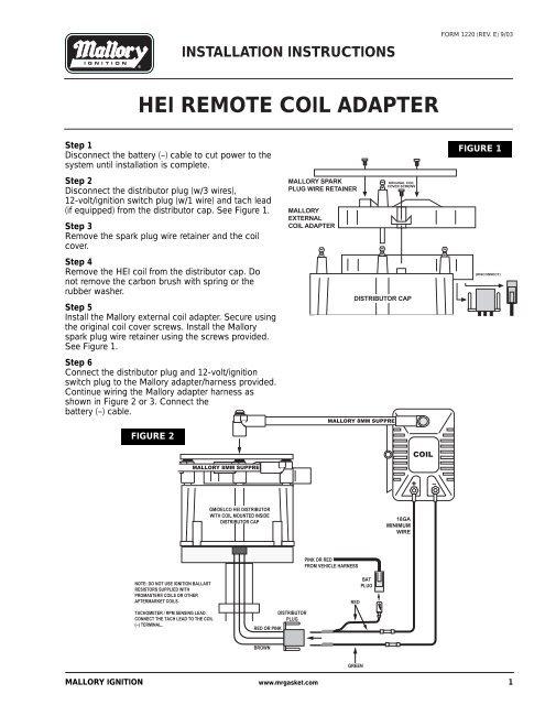 mallory tachometer wiring diagram  schematic wiring diagram