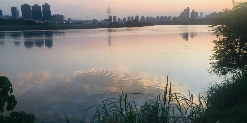 #278 [魚導日常] 上學時間的堤外自行車道