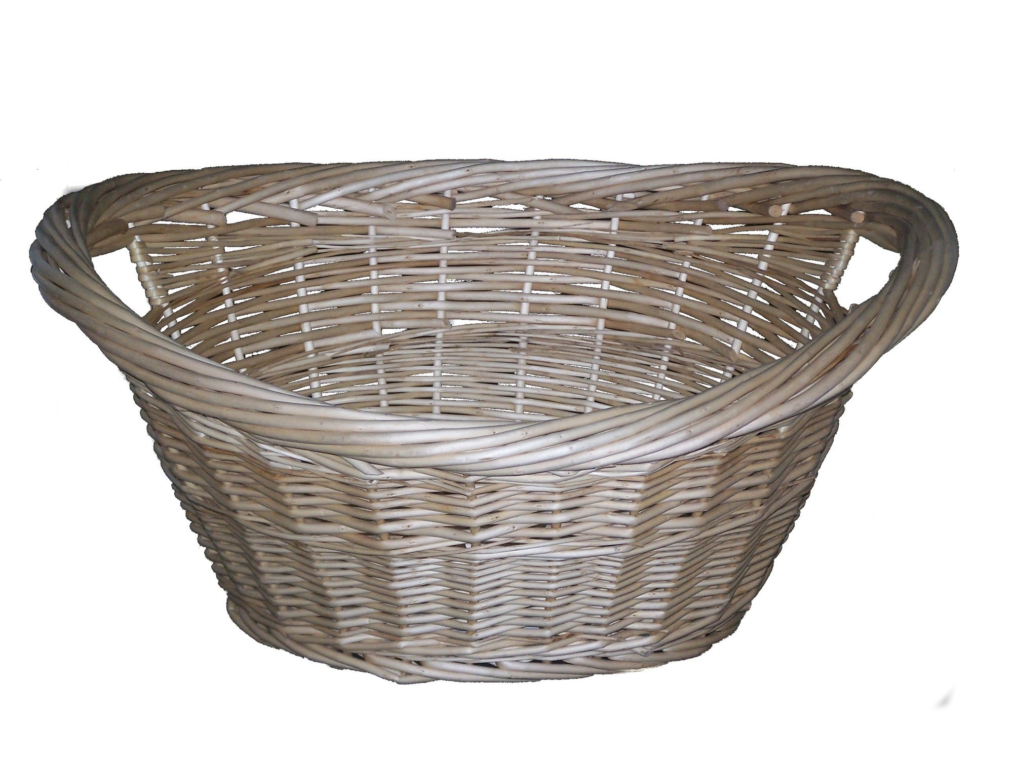 Cane Design Willow Washing Basket Reviews Temple Webster