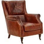 New Archie Leather Armchair Chartwell Home Armchairs Ebay