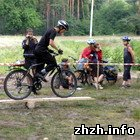 На Житомирщине прошли соревнования по велосипедному туризму. ФОТО