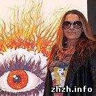 В Бердичеве на открытии цирковой арены Могилевская купила картину за $4000
