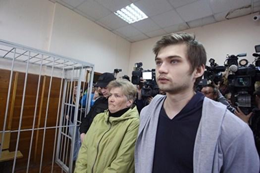 Руслан Соколовский на суде
