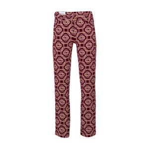 Monogram printed pants