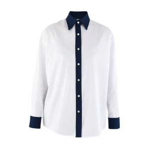 Blue detail shirt
