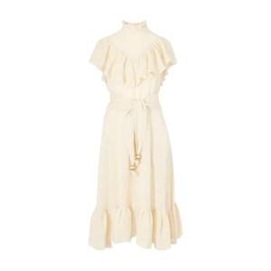 Antonina linen maxi dress