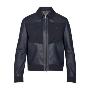 Mixed Leather Jacket