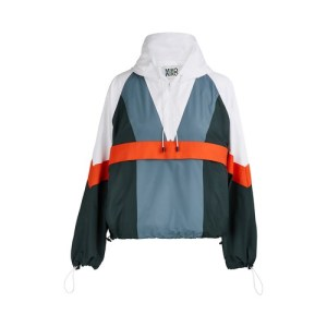 Colorblock windcheater