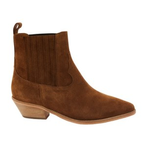 Edith western suede boots