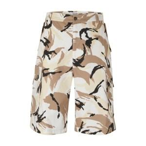 Chino printed shorts