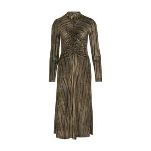 Asher velvet devore long dress