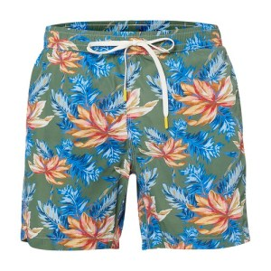 Hibiscus swimming shorts