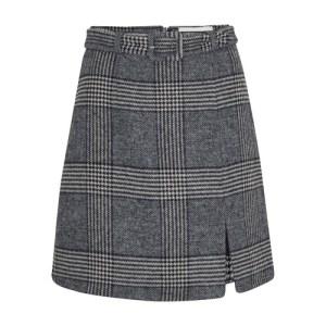 Spilt mini skirt