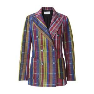 Wole crossed jacket