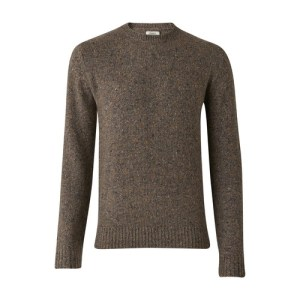 Donnegal round neck jumper