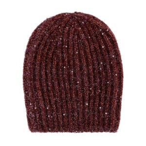 Ununu Ribbed Beanie With Sequins