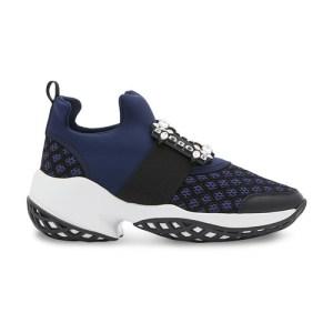 Viv 'Run sneakers with rhinestone buckle