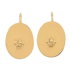 Antic Face earrings